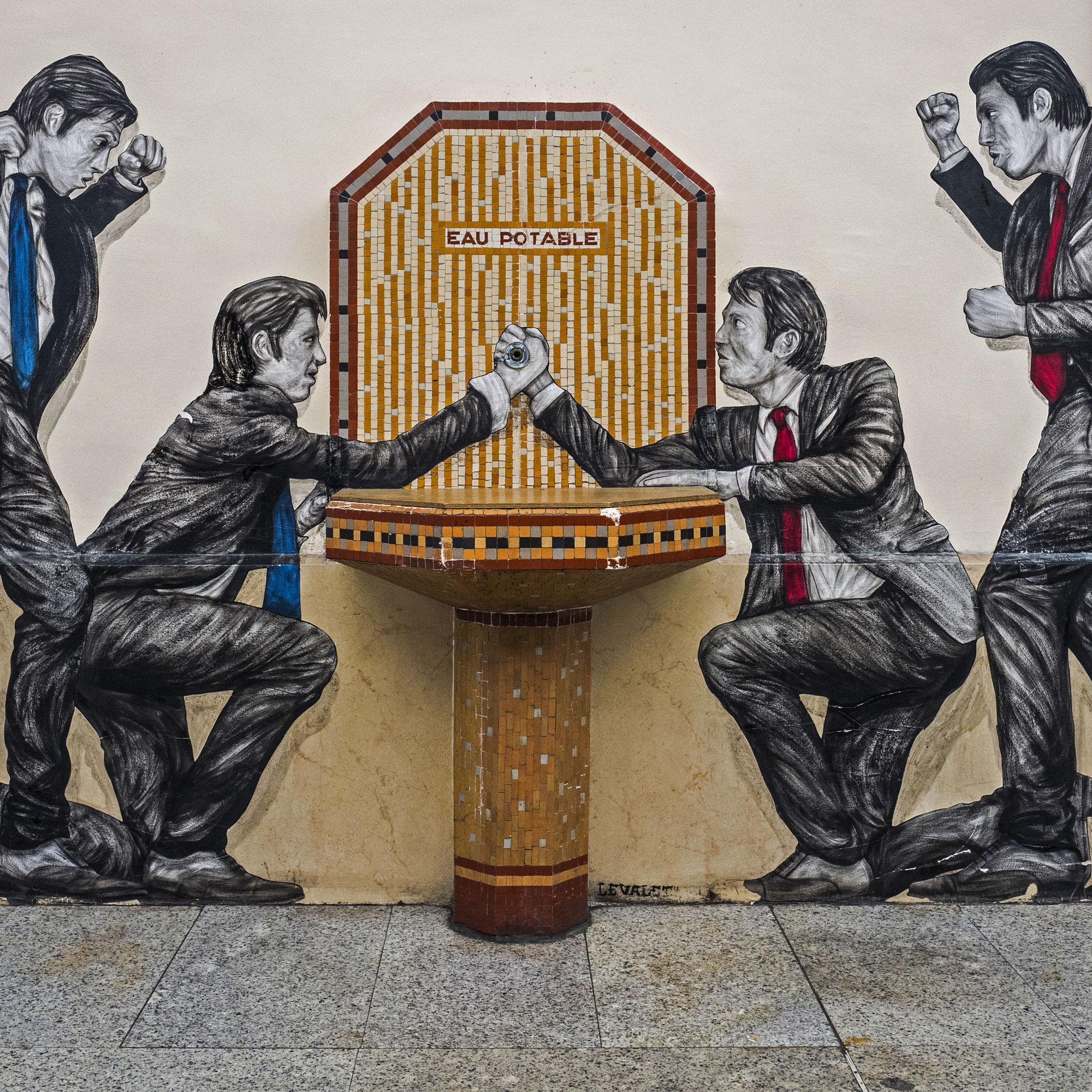 Opération Street Art : Gare Saint-Lazare