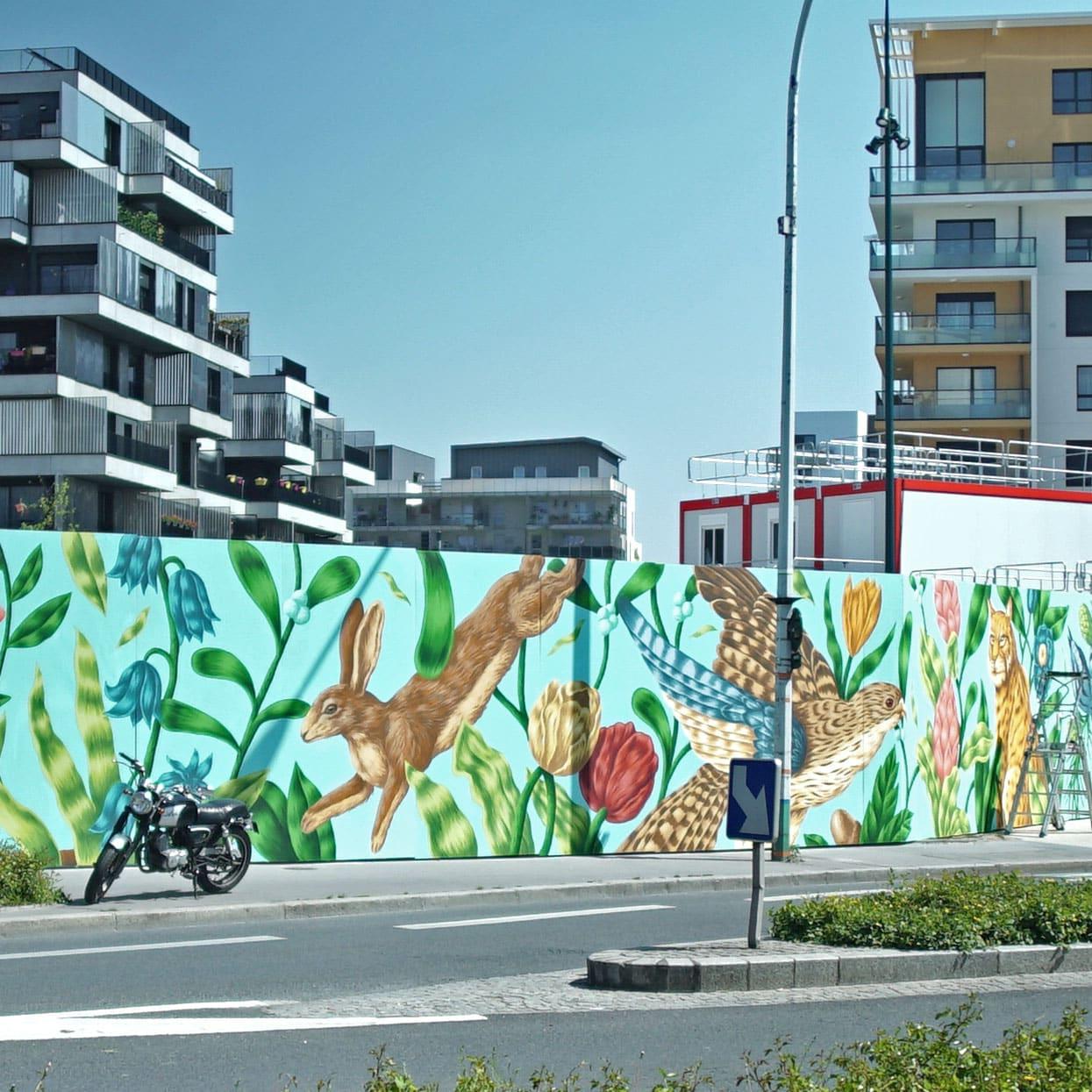 Opération Street Art : Gennevilliers