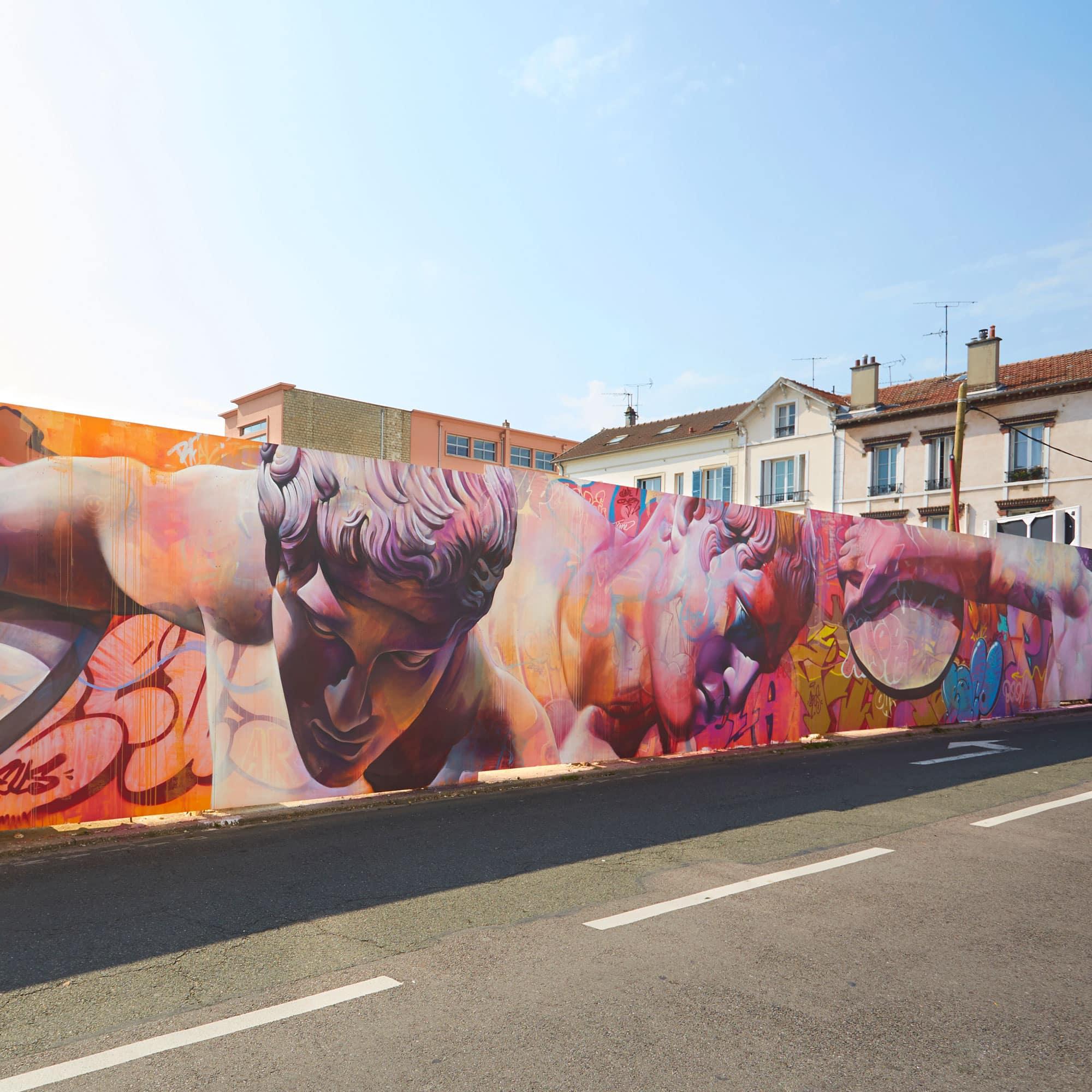 Opération Street Art : Poissy