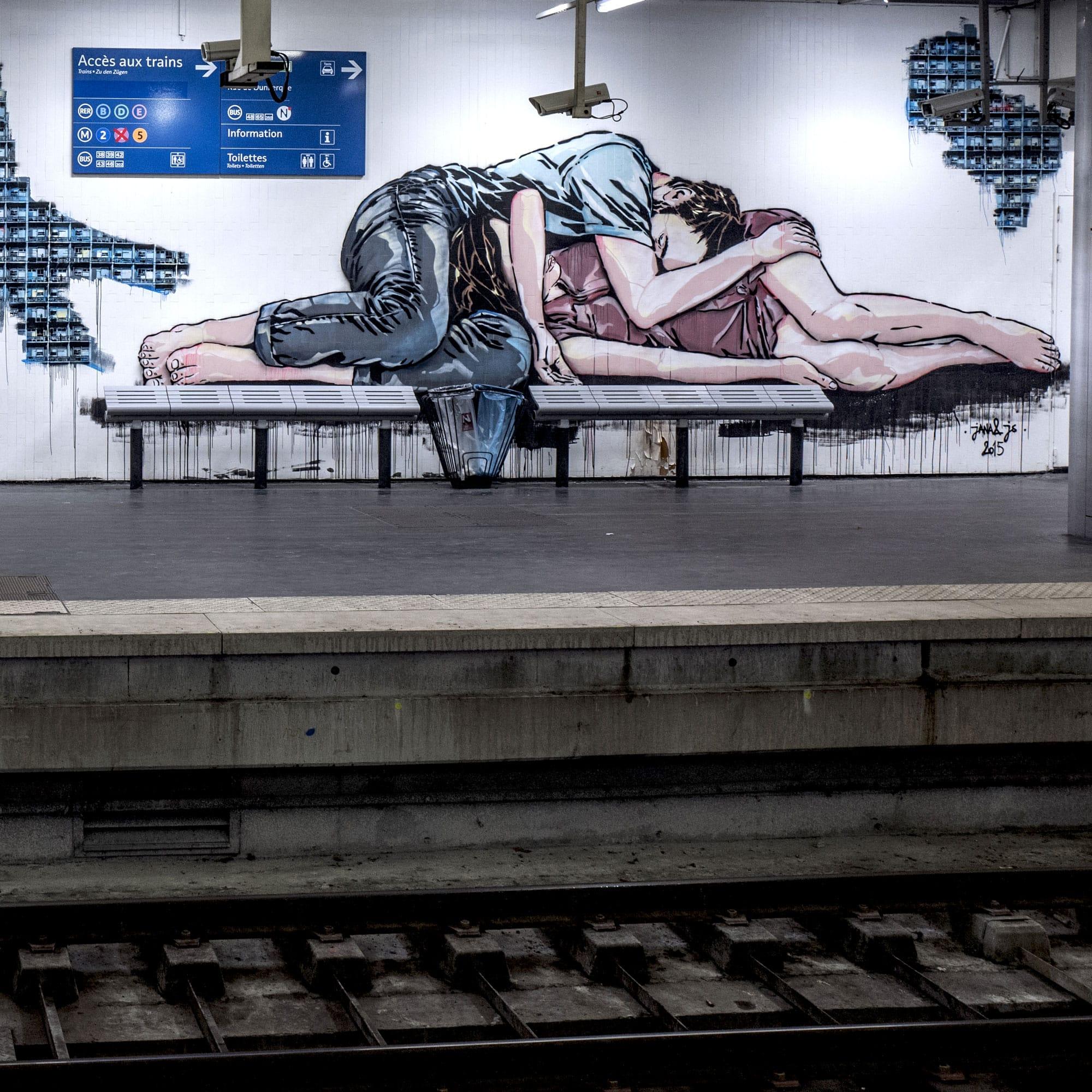 Opération Street Art : Art Résidence – Gare du Nord