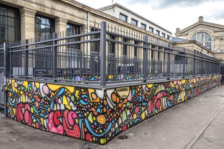 Art Résidence – Gare du Nord 2
