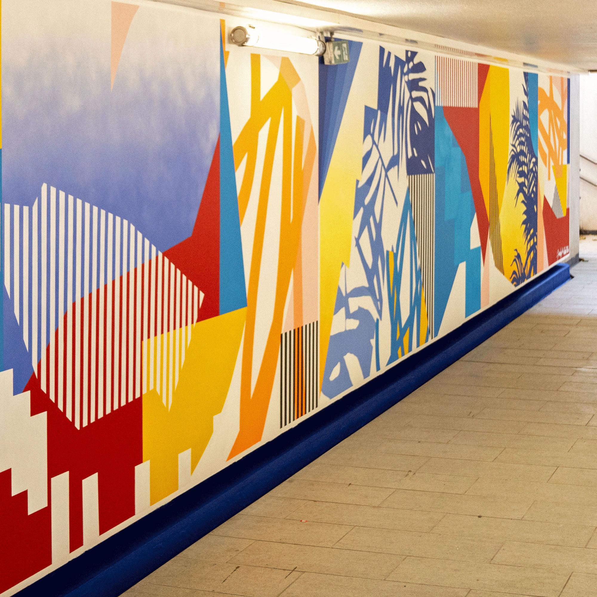 Opération Street Art : Gare de Champ de Mars