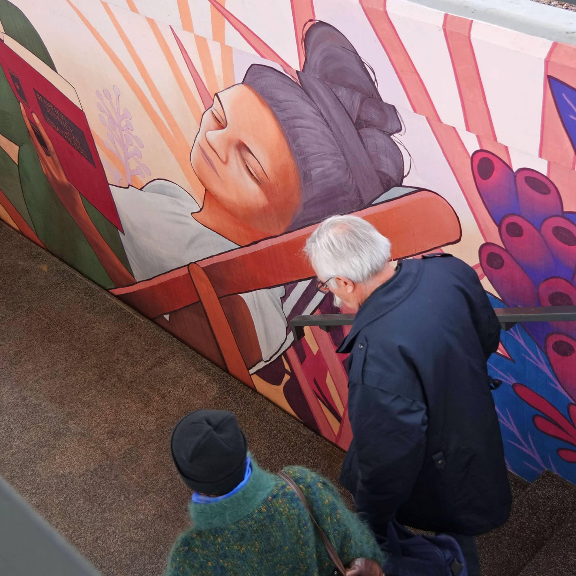 Street Art Operation : Gare de Viry-Châtillon
