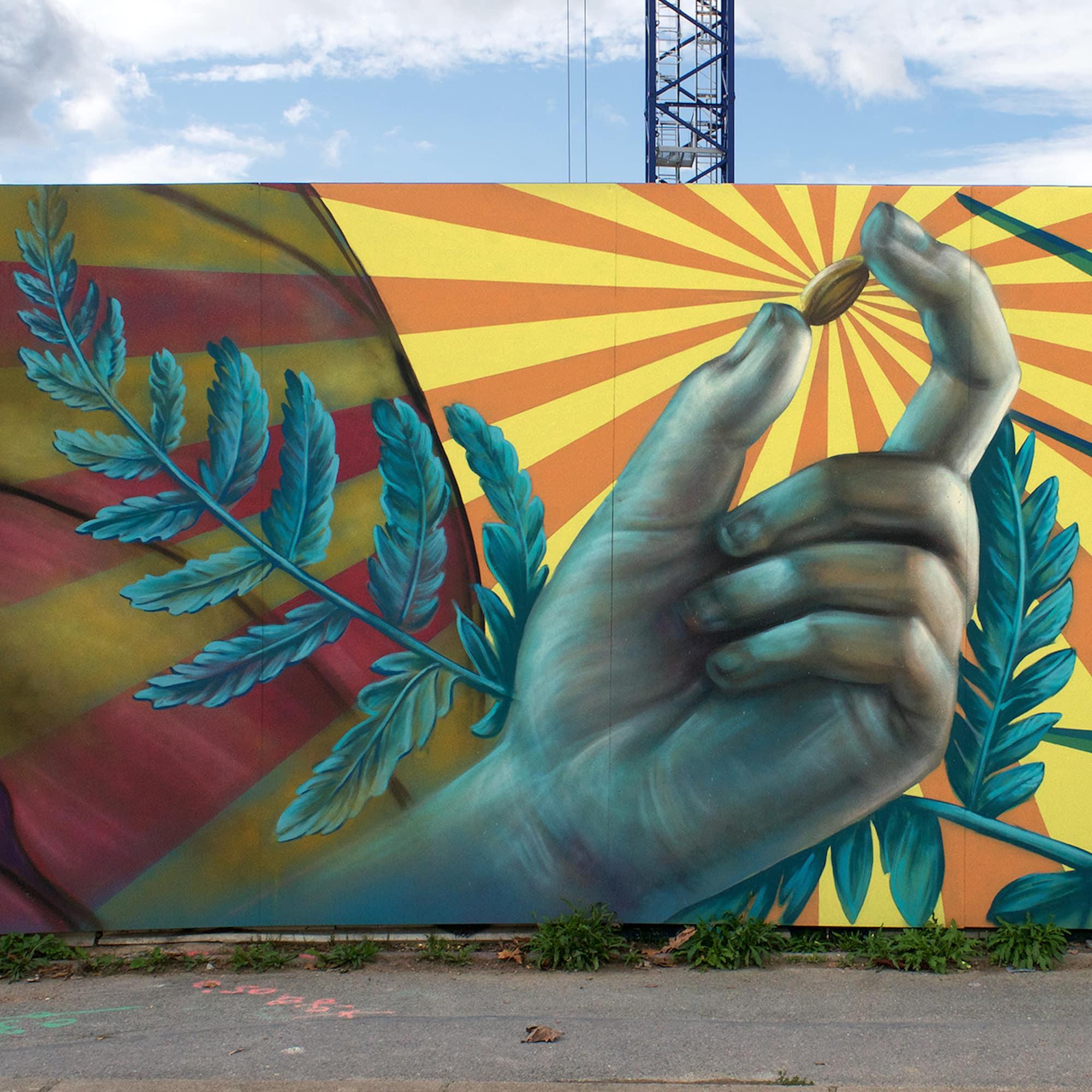 Street Art Operation : Bagneux – Symbiose