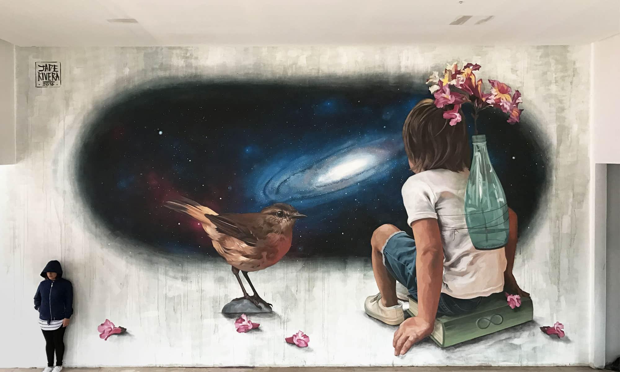 Street Artiste : JADE RIVERA