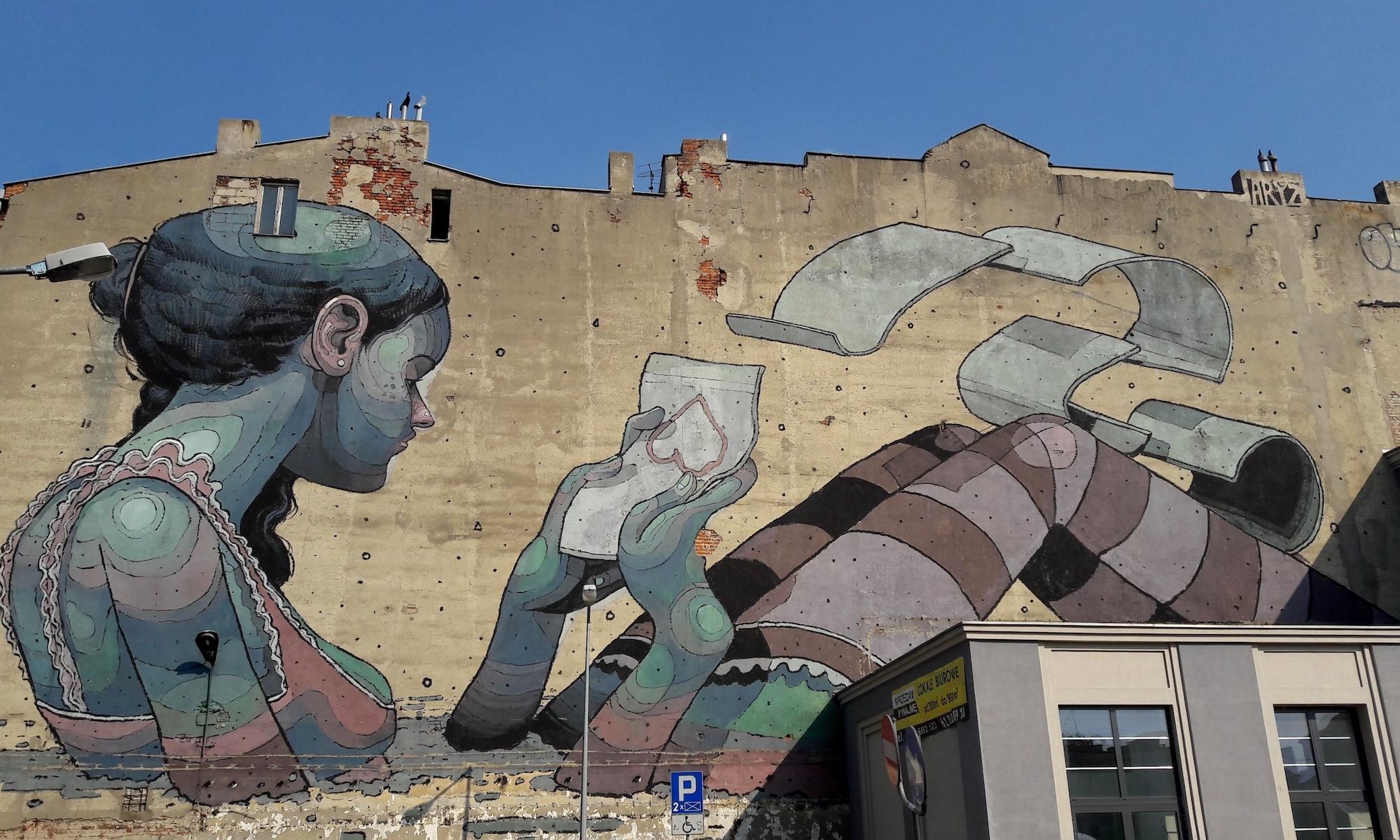 Street Artiste : Aryz