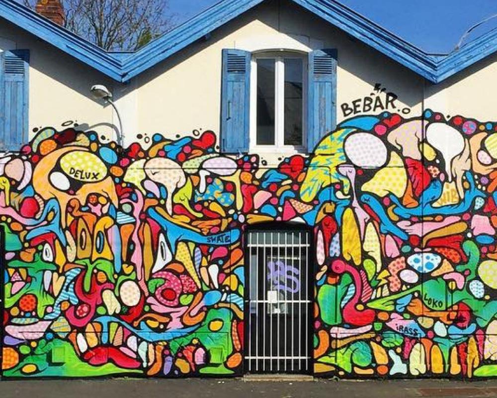 Street Artist : Bebar