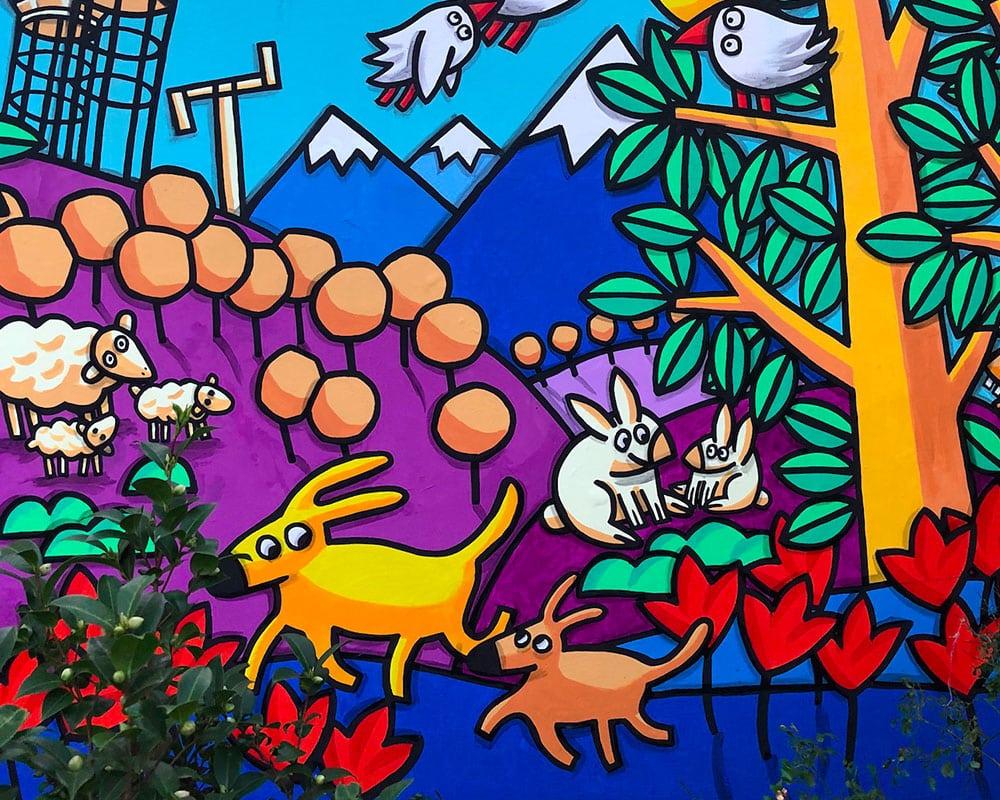 Street Artist : Sacha Schwarz