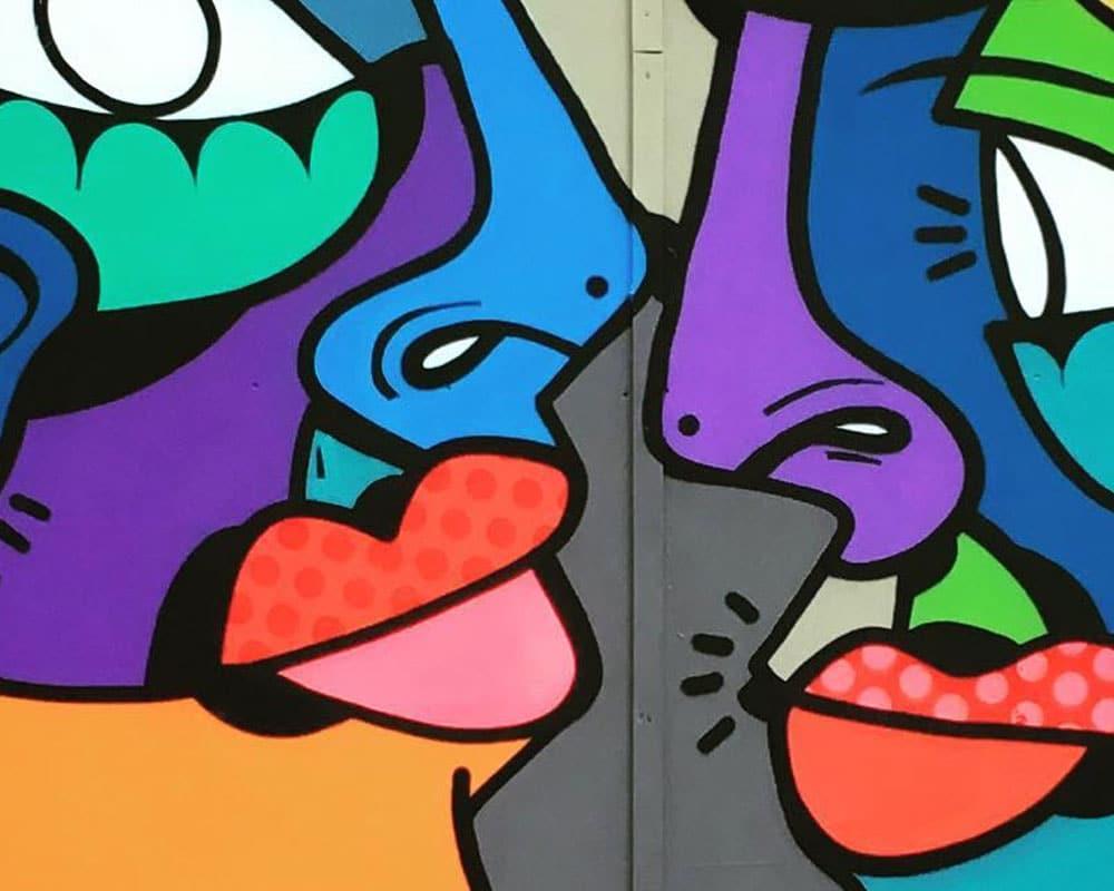 Street Artist : Hunto