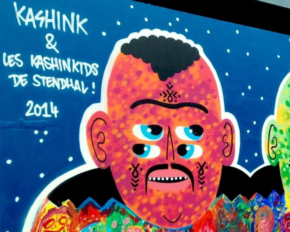Street Artist : Kashink