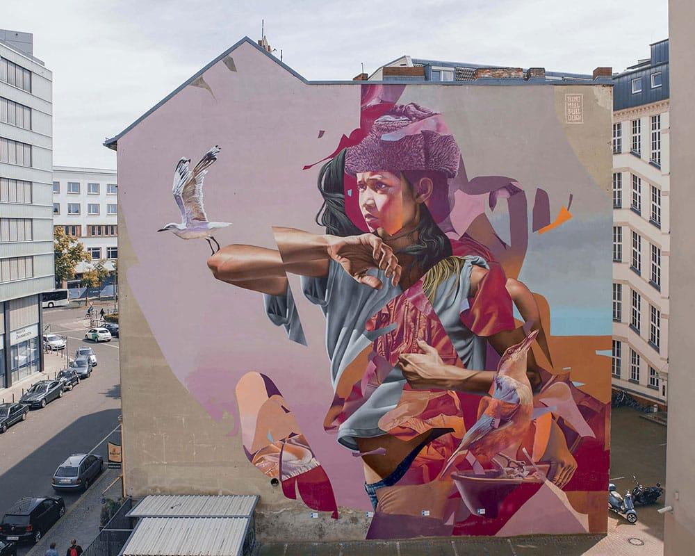 Street Artiste : Telmo Miel