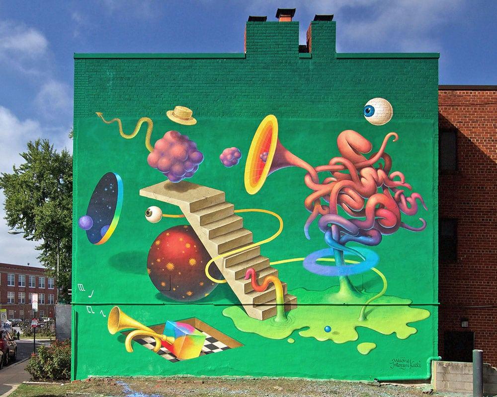 Street Artist : Waone