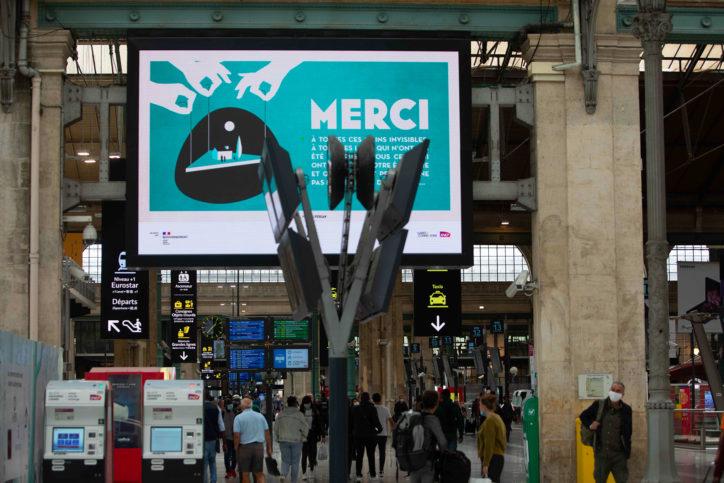 · Campagne MERCI · FRANCE 8