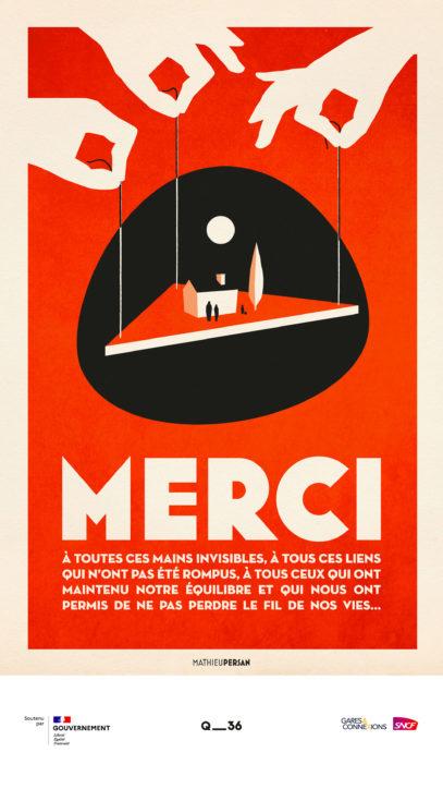 · Campagne MERCI · FRANCE 1