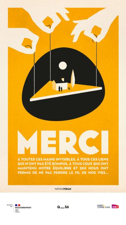 · Campagne MERCI · FRANCE 4