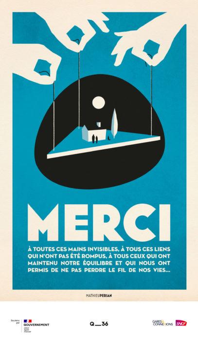 · Campagne MERCI · FRANCE 2
