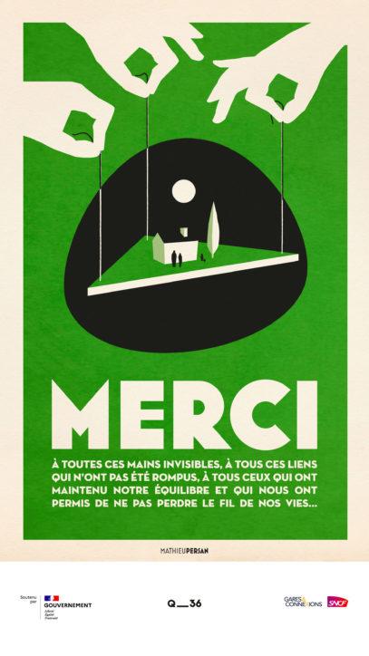 · Campagne MERCI · FRANCE 3