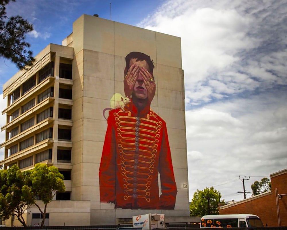 Street Artist : Sainer