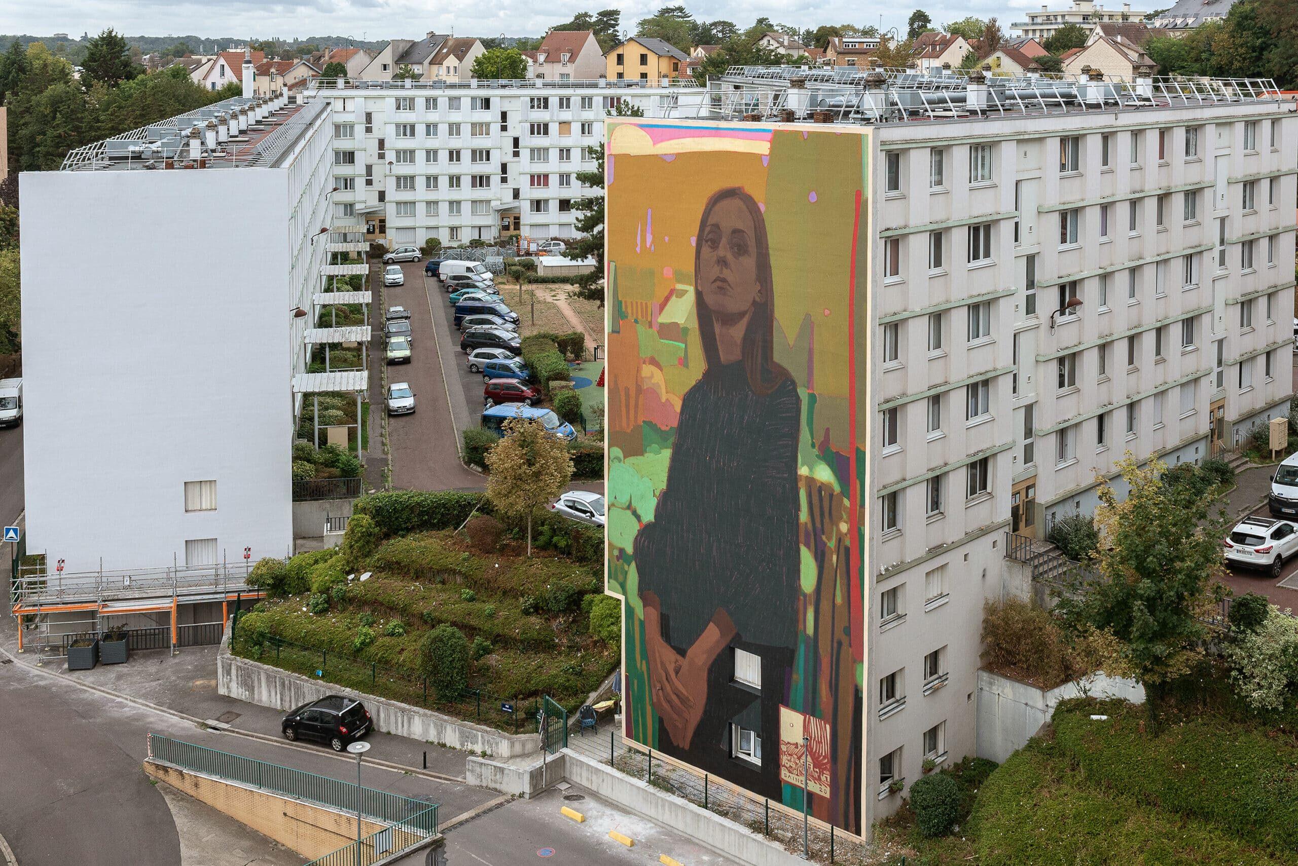 Opération Street Art : PROJET #1096 VERSAILLES