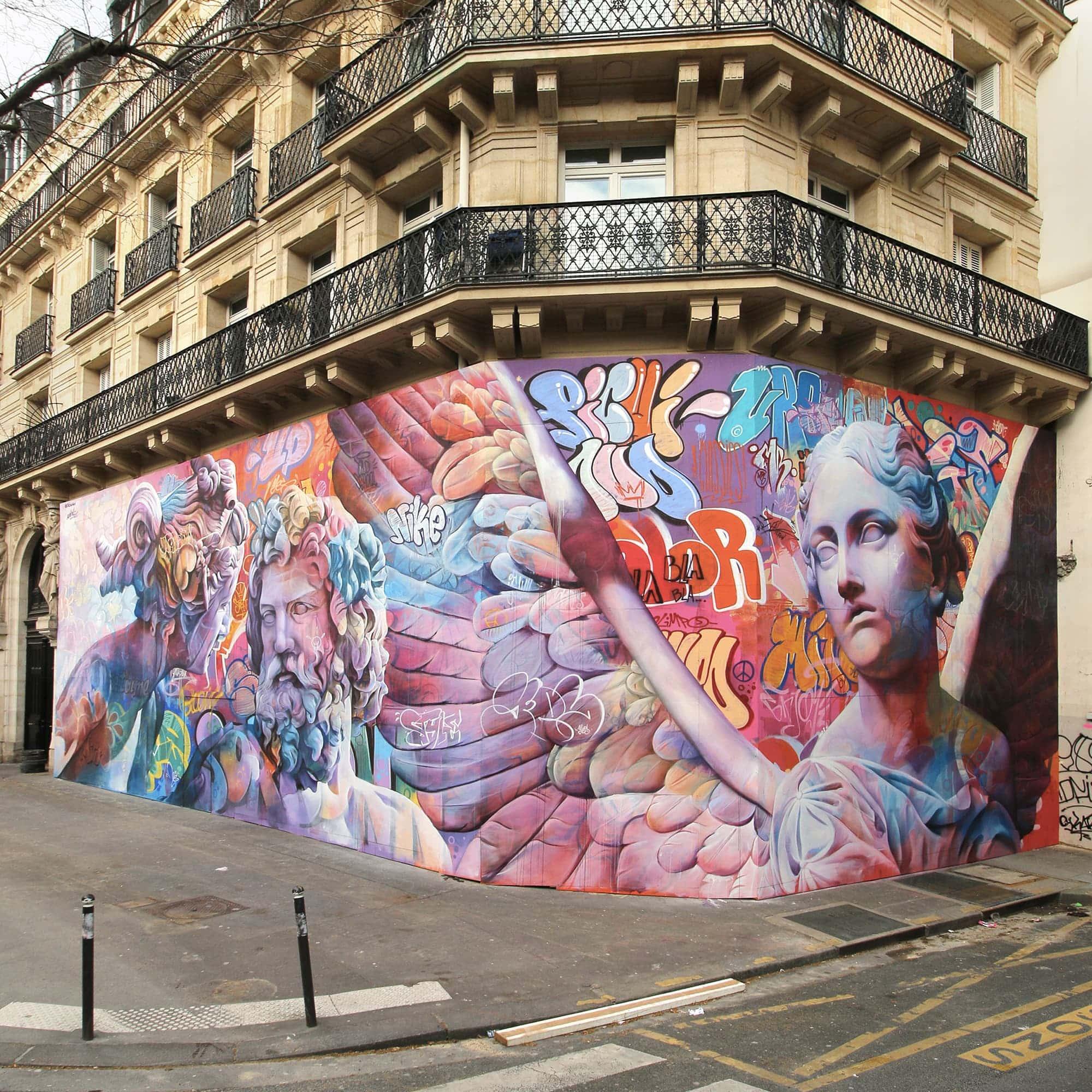 Opération Street Art : Paris 5 ème