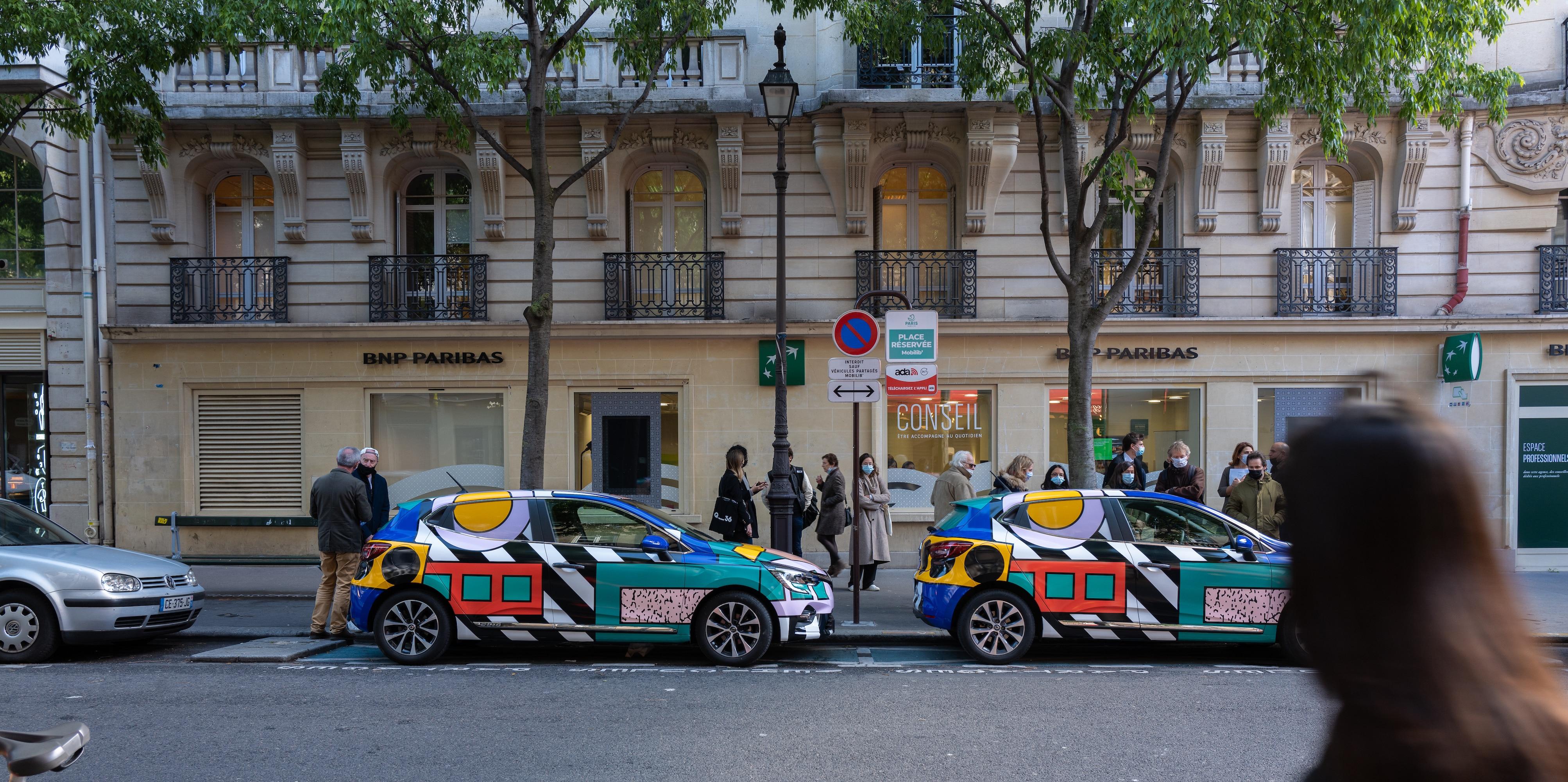 Opération Street Art : WALALA CAR