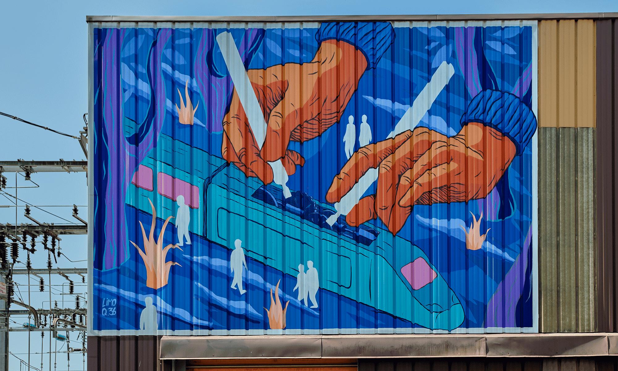 Street Artiste : Limo